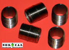 """304 STAINLESS STEEL 1/2"""" x 1"""" CLOSE NIPPLE NPT Male Pipe Fitting 2 3 4 or 5 Pcs"""