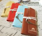 Brandon Weles Alpinist Leather Wrap Roll Up Pen Pencil Cosmetic Case Pouch