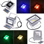 10W/20W RGB/White/Warm White LED Flood Light Waterproof Project + Remote Control