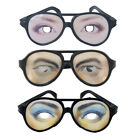 Funny Fake Eye Glasses w/ Big Frame Joke Fancy Dress Mens / Ladies Party Favors