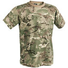 HELIKON MILITARY TACTICAL COMBAT MENS T-SHIRT AIRSOFT 100% COTTON MTP CAMO S-3XL