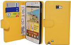 EXTRA FINE PROTECTIVE LEATHER FLIP WALLET CASE COVER GALAXY NOTE I9220 N7000