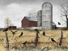 Fall Gathering Farm Billy Jacobs 5x7, 8x10 or12x16 Framed or Unframed Picture