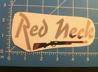 REDNECK decal shiny chrome color all sizes & colors worldwide ship