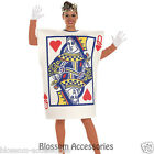 C195 Womens Queen Of Hearts Poker Playing Card Fancy Adult Costume