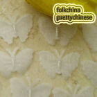White Organza 30mm wide Butterfly Scrapbook Sewing Appliques Trim Craft JMBB