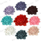 Resin Flower diy 46x36mm vintage cameo Cabochons flatback fit Cabochon settings