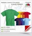 Fruit of the Loom Kinder / Kids T-Shirt Gr. 104 - 164 Top Neu #SALE#