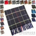 100% LAMBSWOOL MENS SCARF BEIGE TAN BLACK BROWN GREY WHITE