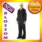 C616 Black Navy Sailor Mens Seaman Fancy Dress Halloween Adult Costume