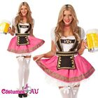 OKTOBERFEST Costume GERMAN HEIDI Fancy Dress Up DIRNDL Leiderhosen Beer Maid
