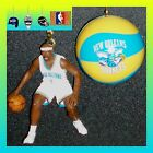 NBA NEW ORLEANS HORNETS DAVIS FIGURE & LOGO OR NBA BASKETBALL CEILING FAN PULLS on eBay