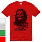 VIVA LA REBELION T-Shirt Star Darth chewbacca guervara che wars luke dvd bluray