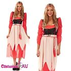 OKTOBERFEST Medieval Costume GERMAN Fancy Dress Up DIRNDL Leiderhosen Beer Maid
