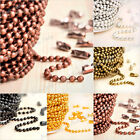 HOT 2.4x2.4mm Ball Unfinished Chains Wholesale Fit Bracelet Necklace Brandnew