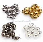 10 Sets Silver Plated/Gold Plated Round Ball Magnetic Findings Clasps 6mm/8mm