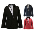 New Ladies Womens Quilted Padded Zip Button Jacket Coat Top Jeans UK Size 8-18