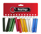 1 Doz Practical Keyrings, Purse Keyring - Pocket Toys, Party Bags, Gifts