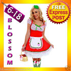 G11 Ladies Strawberry Shortcake Storybook Fancy Halloween Costume Party Outfit