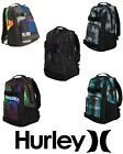 Hurley Honor Roll 3 Skate BACKPACK School Bag MX Reflux Buffalo Plaid Black Camo
