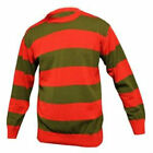 Freddie Krueger DELUXE Knitted Red / Green Jumper