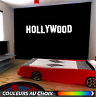 Hollywood Wall Sticker citation texte phrase cinéma movie new york muraux decal