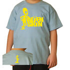 T-SHIRT BAMBINO ALIEN SKIN 1 STAMPA GIALLO by SamyShop