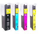 4 Non-OEM Replaces For Lexmark 100XL Ink Cartridges