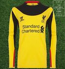 BNWT Official Warrior Liverpool Goalkeeper Away Shirt - All Sizes - LFC - GK