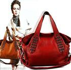 NEW Top Real Genuine Cowhide Leather Women Handbag Tote Hobo Shoulder Cross Bag