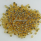 Wholesale! 1.5mm,2mm,2.5mm Gold Plated Copper Crimp End Beads DIY findings