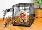Reusable Absorbent liner Pad w/ waterproof backing for Dog Crate Kennel bed