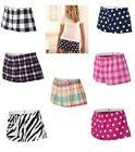 Peaches Pick Boxercraft Ladies Size S-XL 100% Cotton Flannel Bitty Boxers Shorts