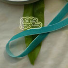 Teal Velvet Ribbons Trim Sewing Scrapbook 6mm,10mm,12mm,15mm,18mm,24mm,38mm