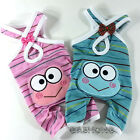 Dog&Cat Clothes Frog Embroidered Overall Jackets_G311