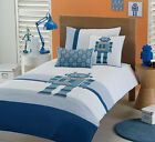 Juvenile Bedding - Androids Duvet Cover Set - Twin or Double/Queen