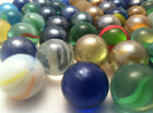 """5/8"""" 1"""" Round Mixed or White Marbles Slingshot Ammo 100 200 300 400 pieces"""