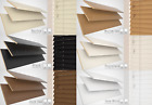WOOD WOODEN VENETIAN BLINDS REAL WOOD MADE TO MEASURE 35MM 50MM SLATS CHILD SAFE