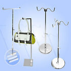 HIGH QUALITY STURDY HEIGHT ADJUSTABLE PURSE/ HANDBAG DISPLAY HANGER/ RACK/ STAND