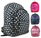 New Girls Love Stars School College PE Hand Luggage Travel Backpack Cabin Bag