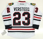KRIS VERSTEEG CHICAGO BLACKHAWKS REEBOK NHL PREMIER AWAY JERSEY