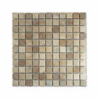Traditional Modern Antique Tumbled Beige Brown Feature Mosaic Focal Point Tiles