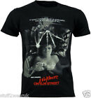 Nightmare On Elm Street Movie Poster T Shirt  OFFICIAL S M L XL NEW