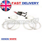 BMW E46 Xenon CCFL Angle Angel Eye Head Light White Rings Kit Headlight