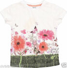 GIRLS GARDEN SCENE COTTON T-SHIRT TOP 18-24,2-3,3-4,4-5,5-6
