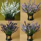 10 stems Lifelike lavender artificial Plants and Flowers