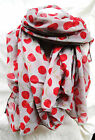 Cherry -  Cherry Scarf Ripe Juicy Cherry Soft Colorful Fashionable and tasty !