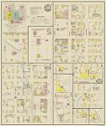Old City Map - Bloomington Indiana Landowner - Sanborn 1887 - 23 x 27.19