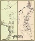Old City Map - Tuckahoe, North and South New Jersey Landowner - 1878 - 23 x 27