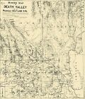 Old Mine - DEATH VALLEY MINERS  -SALT LAKE RR CA-NV-AZ MAP 1903